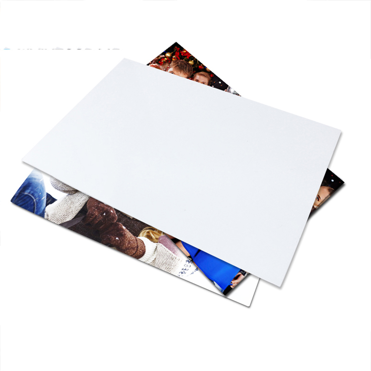 Lamina Metalica Blanca sublimable 30x40x0.045cm