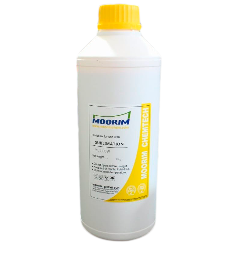 Tinta  MOORIM Sublimacion Yellow 1L