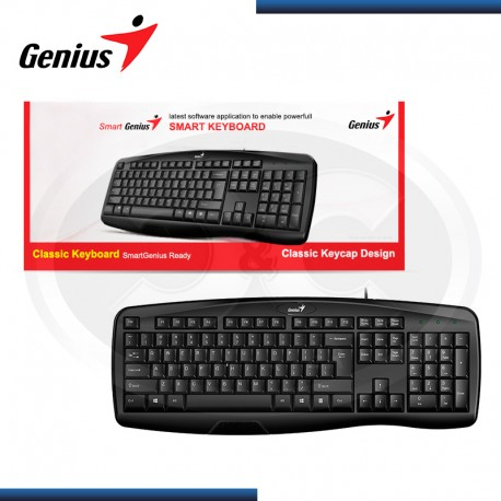 Teclado Genius KB128 usb black
