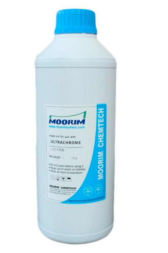 Litro Tinta Moorim Epson Ultracrhome Light Cyan