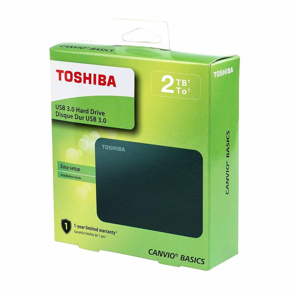 Disco Duro externo 2TB TOSHIBA Canvio Advance USB 3.0