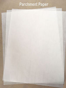 Hoja de papel mantequila A3 para sellar papel transfer  de colores oscuros