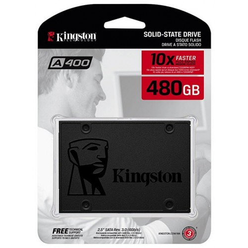 Disco Duro Solido SSDNOW Kingston 480gb/2.5´