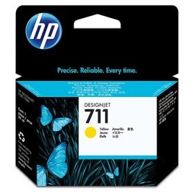 Cartucho HP CZ132A 711 Yellow 29ml T520-120