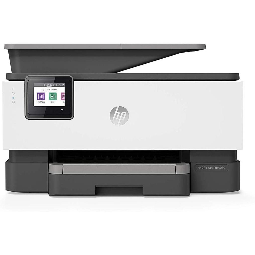 Impresora HP Multifuncion Officejet Pro 9010 imprime, copia, escanea, fax Pantalla tactil a color, duplex en ADF e impresion, 22 ppm negro y 18 ppm en color Usb-Wifi-Ethernet