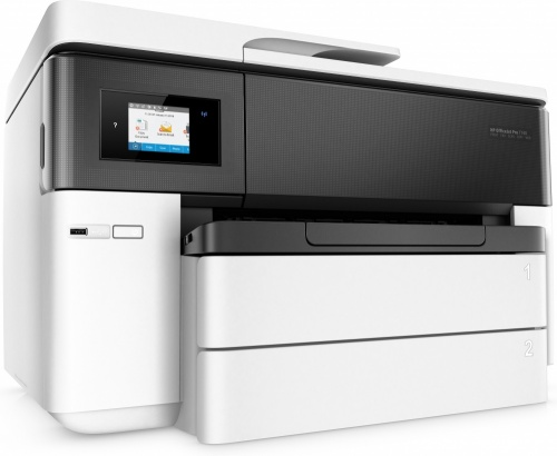 Impresora HP Multifunción OfficeJet Pro 7740 gran formato imprime, copia, escanea en A3, fax Adf automatico a doble cara Wifi color 35 ppm negro y 20 ppm color