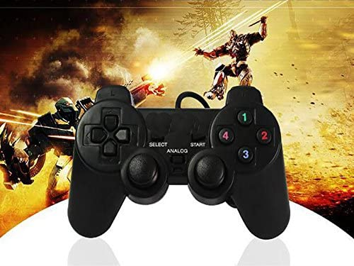Control de Juegos EVL PS20, 2.0, Usb para PC  PS3 Analogo