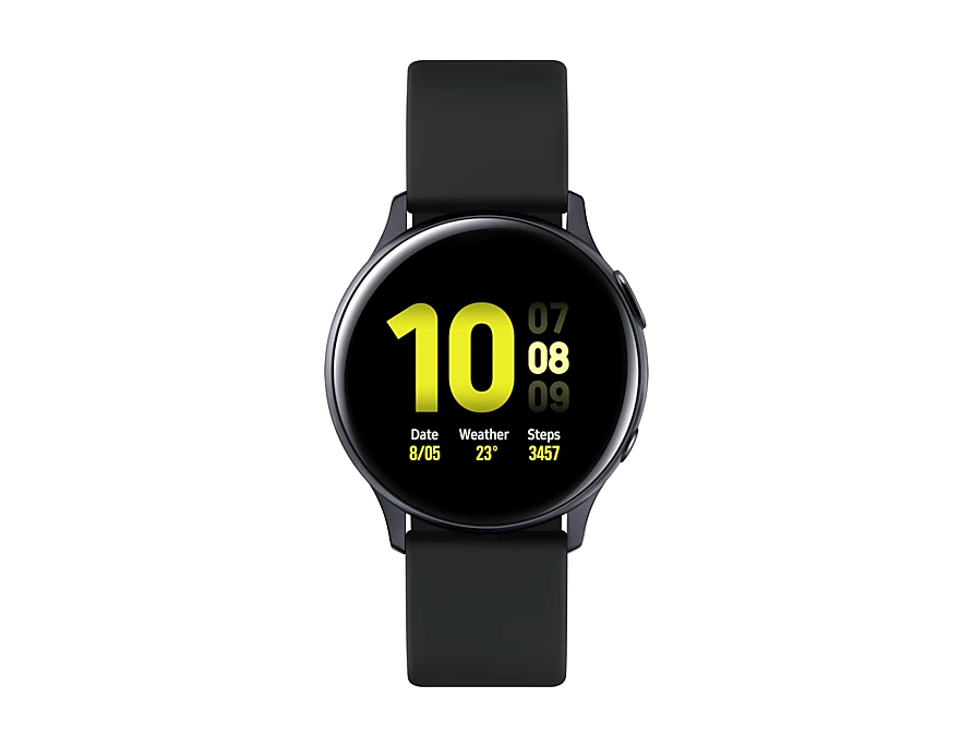 Reloj Inteligente Samsung Galaxy watch Active 2 SM-R830NZKATPA: Aluminio, color Negro, 42mm