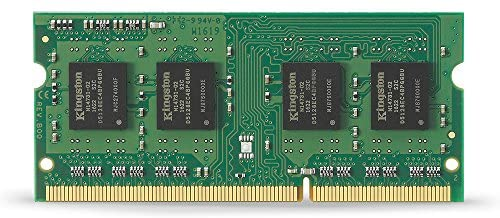 SO DIMM KINGSTON 4GB 1333MHz DDR3 Non-ECC CL9 1Rx8 KVR13S9S8-4 Nuevo 1 año de garantia