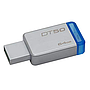 Flash memory Kingston DT50 64 GB - USB 3.1 - azul