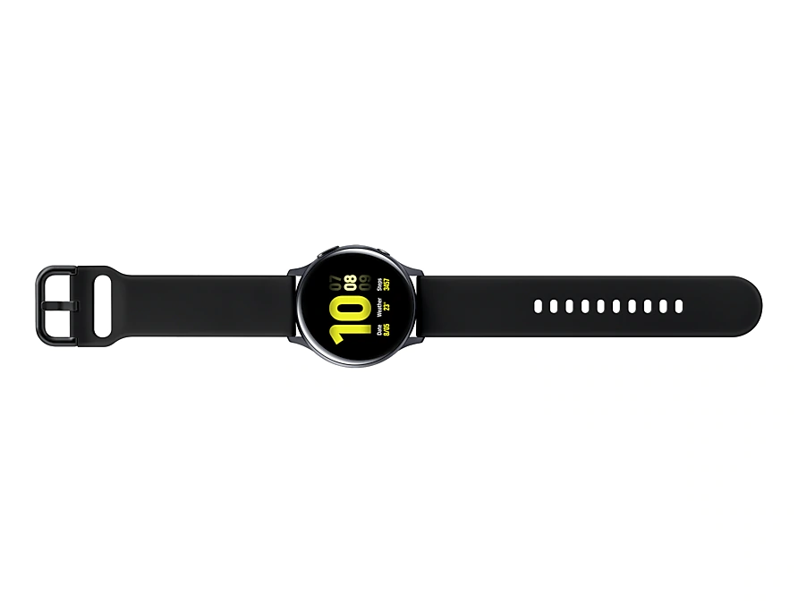 Reloj Inteligente Samsung Galaxy watch Active 2 SM-R830NZKATPA: Aliminio, Negro, 42mm